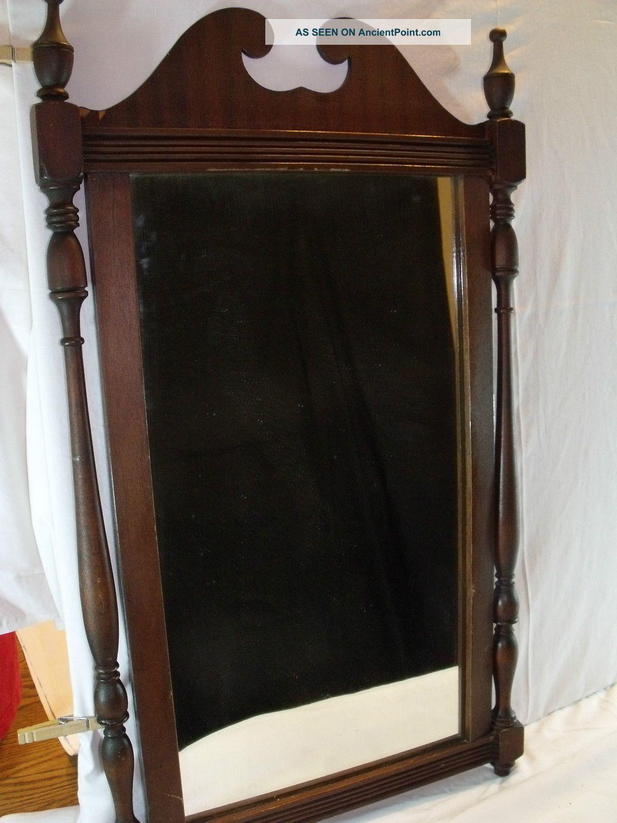 Antique Dresser Mirror Wood