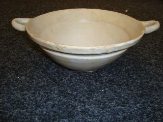 17/18th Century Delft White Big Bowl / Porringer photo