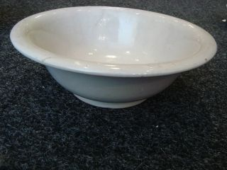 18th Century Delftware White Big Bowl. photo