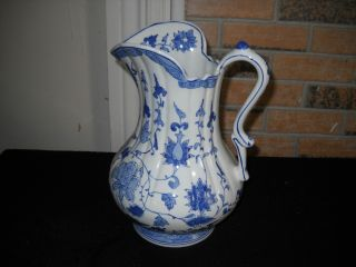 Very Large Antique Vintage Porcelain Pitcher (mint) (. U.  S.  Or U.  K.  Made) photo