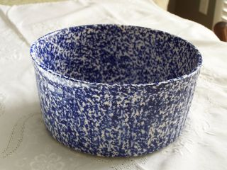 Doranne Serving Bowl Cobalt Blue & White (oven To Table Ware) Made In Usa photo