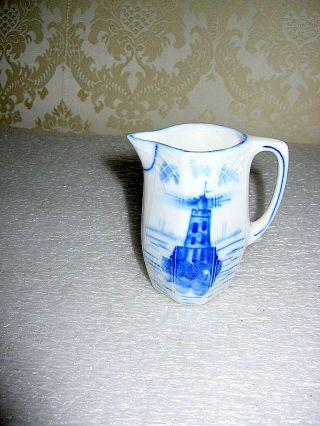Antique Porcelain Creamer photo