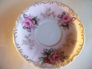 Gorgeous Vintage Hand Painted Saucer By Lefton photo