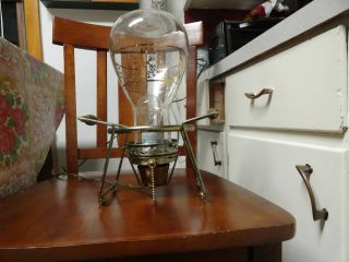 Vintage Industrial Steampunk Nautical Theamed Desk Light Table Lamp 1 Of A Kind photo