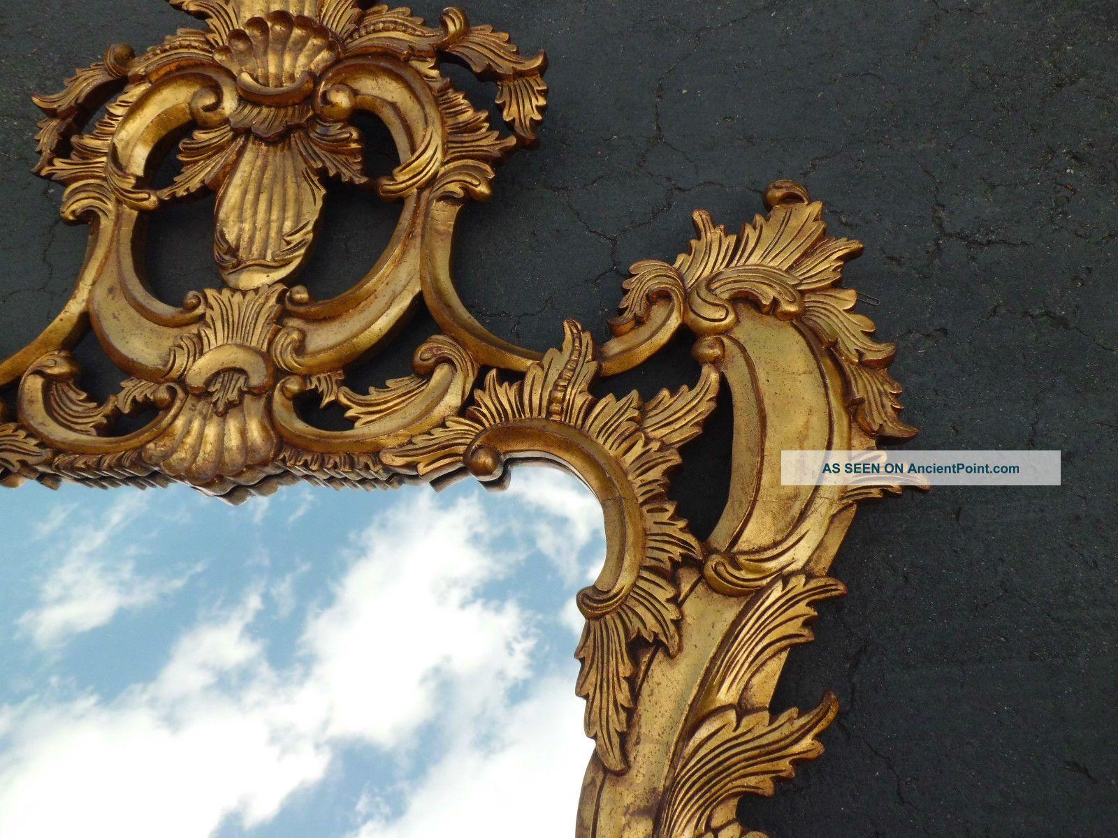 decorator gold large ornate wall mirror