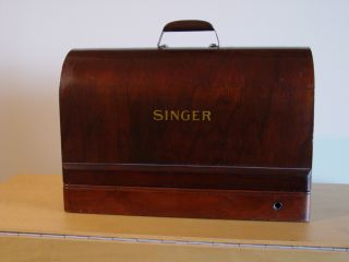 Singer De Luxe 1929 Portable Sewing Machine photo