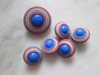Vintage Buttons Handmade In Czech Republic The Are From Glass photo