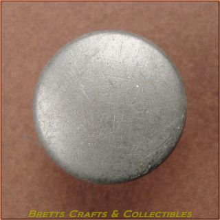 Vintage - 18th Century (1714+) Georgian Button - Plain Disc 10a photo