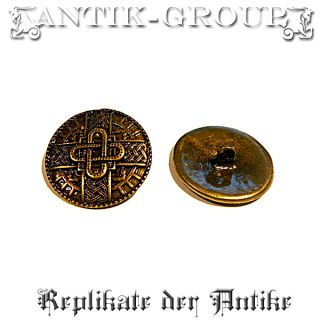 10 Pcs Button Merovings Antique Sew Viking Gothic Larp photo