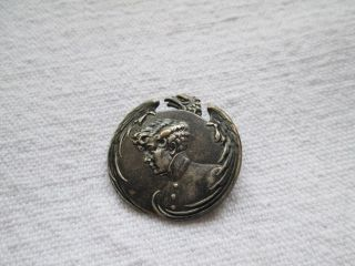 Antique Button/eagle And Young Napoleon/france photo