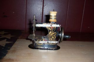 Antique Vintage Casige Toy Sewing Machine Early 1900s Very Rare photo
