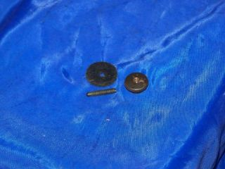 Singer 221 Sewing Machine Bottom Plate Screw Nut Pad photo