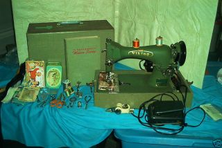 Viking 10 Class Vibrating Shuttle Sewing Machine photo