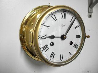 Vintage Schatz 8 Days German Marine Ships Clock Working photo