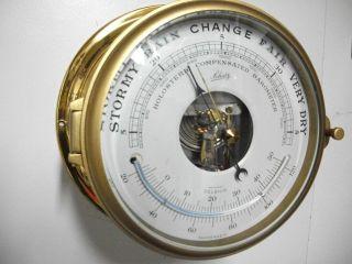 Vintage Schatz Marine German Barometer In Excellent Working Condition photo