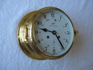 Vintage Ships Clock Schatz Royal Mariner. . . .  Excellent Working Condition photo