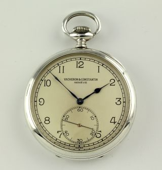Vacheron & Constantin Chronometer For Russian Marine 1943 Wwll Pocket Watch photo