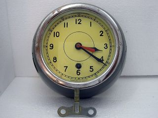 Vintage 1974 Boat/ship Submarine Ussr Russian Navy Cabin Clock Vostok 8 Days photo