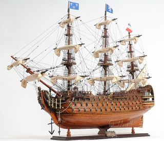 Royal Louis Wooden Model Tall Ship Sailboat 37