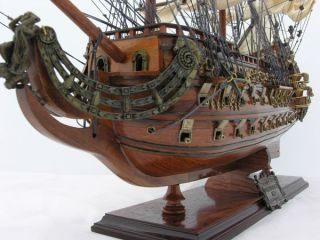 Soleil Royal Tall Ship Wooden Model Sailboat 28