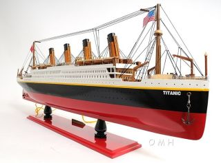 Lighted Rms Titanic Ocean Liner 32