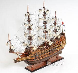 Sovereign Of The Seas Wood Tall Ship Model Sailboat 29