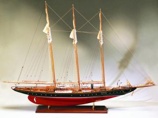 Abordage Wooden Schooner Atlantic Yacht Model Ship 43