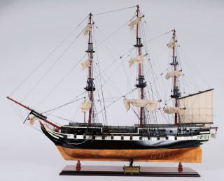 Hms Trincomalee British Frigate Wooden Ship Model 37