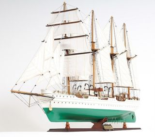 Spanish Navy Js Elcano Wood Model Latina Ship 37
