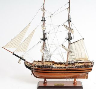 Spanish El Cazador Treasure Ship Wooden Model 24