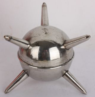 Navy Mine Cigarette Lighter Model Submersible Marine Antique Vintage Modern 50 ' S photo