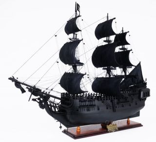 Replica Black Pearl Pirate Ship Model Wood Sailboat 35