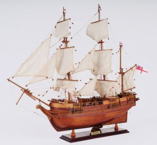 Charles Darwin Hms Beagle Wooden Tall Ship Model 32