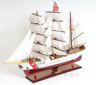 Uscg Eagle Wooden Tall Training Ship 36
