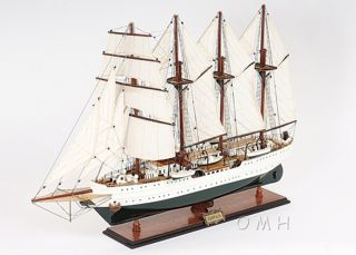 Esmeralda Chilean Training Tall Ship Wooden Model 37