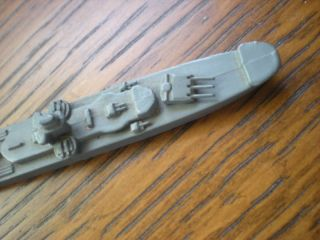 Wwii Usn Ww2 Id Model Ship Framburg Ww2 I.  D.  6