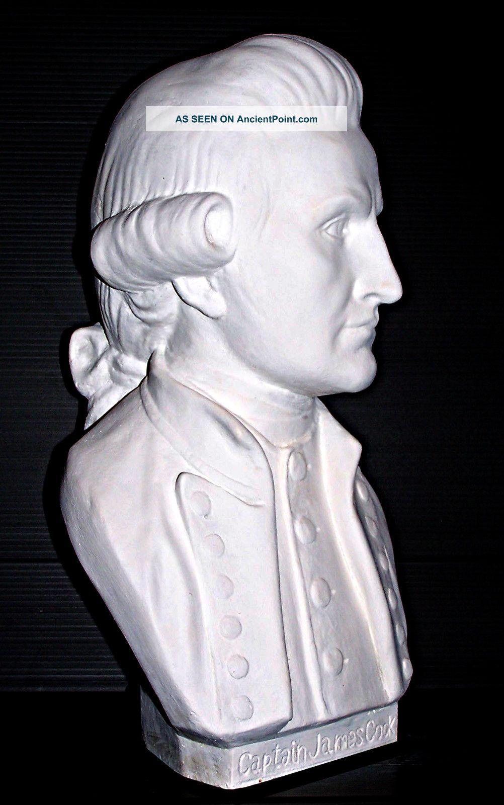 Captain James Cook Australian Sculpture Bust Ltd.  Ed.  32 Cm. . Other photo