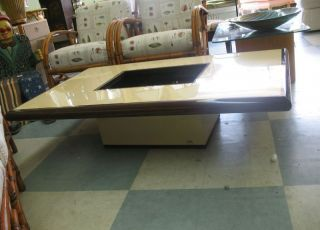 1970 ' S Designer Signed Coffee Table Fr Palm Beach Yacht photo