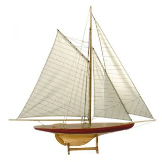 Defend Pond Yacht,  Toy Boat,  Sailing Ship,  1895 Reproduction,  Authentic Models photo