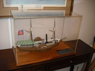 Walk In The Water 1st Steamboat Great Lakes Ship Model photo
