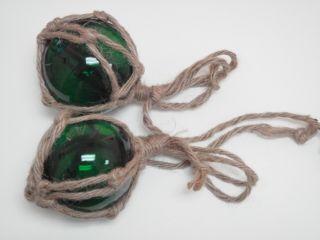 Green Glass Float Fishing Ball Buoys 3