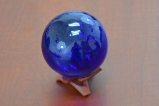 Reproduction Blue Glass Float Fishing Ball 3