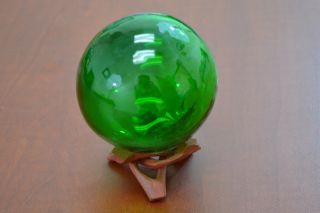 Reproduction Green Glass Float Fishing Ball 3