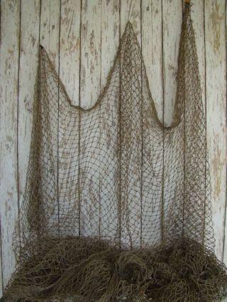 Authentic Fishing Net 5 ' X5 ' Fishnet Decor Netting photo