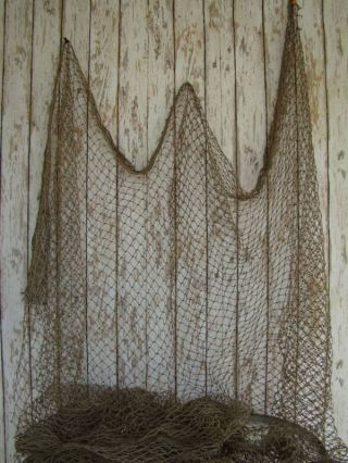 Authentic Nylon Fishing Net 5 ' X10 ' Fish Netting photo