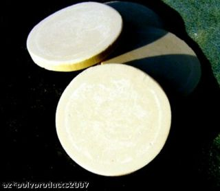 Three 2.  0 In Faux Ivory Poker Marker Chip Scrimshaw photo