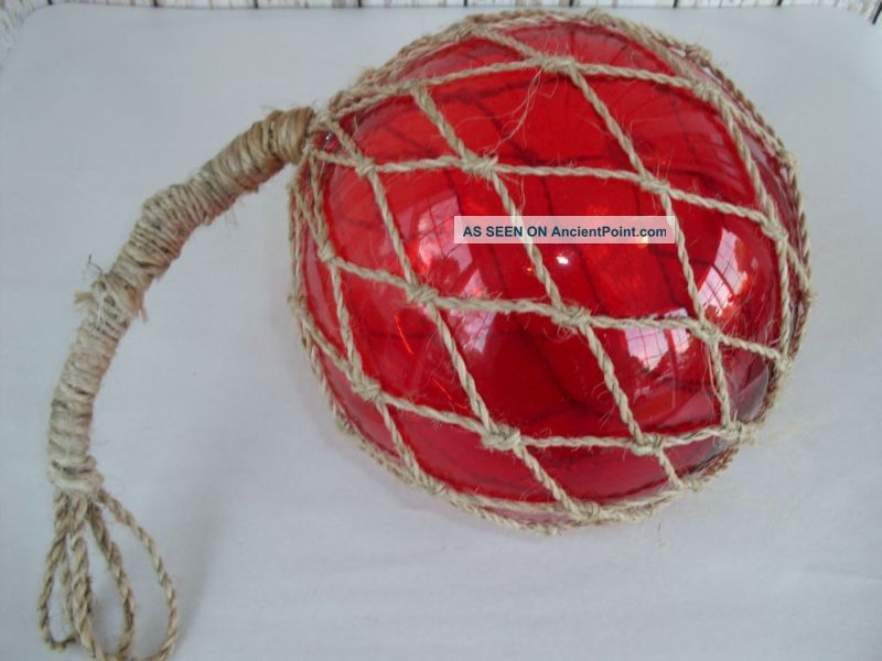 Red Glass Fishing Float Fish Buoy Decor Luau 800 x 600 · 56 kB · jpeg