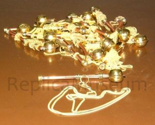 Key Chain Brass Copper Whistle 50 Units Nautical Collectible Marine Prop photo