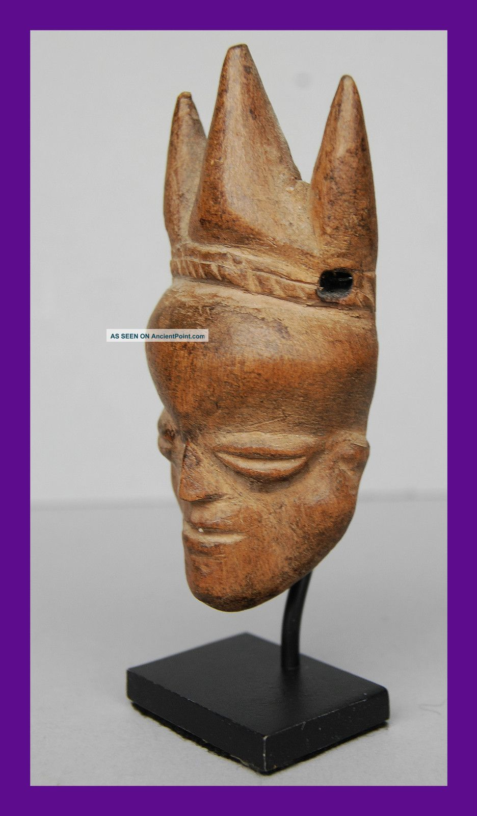 Fine Mask Pendant From The Pende Tribe Of The Congo Other photo