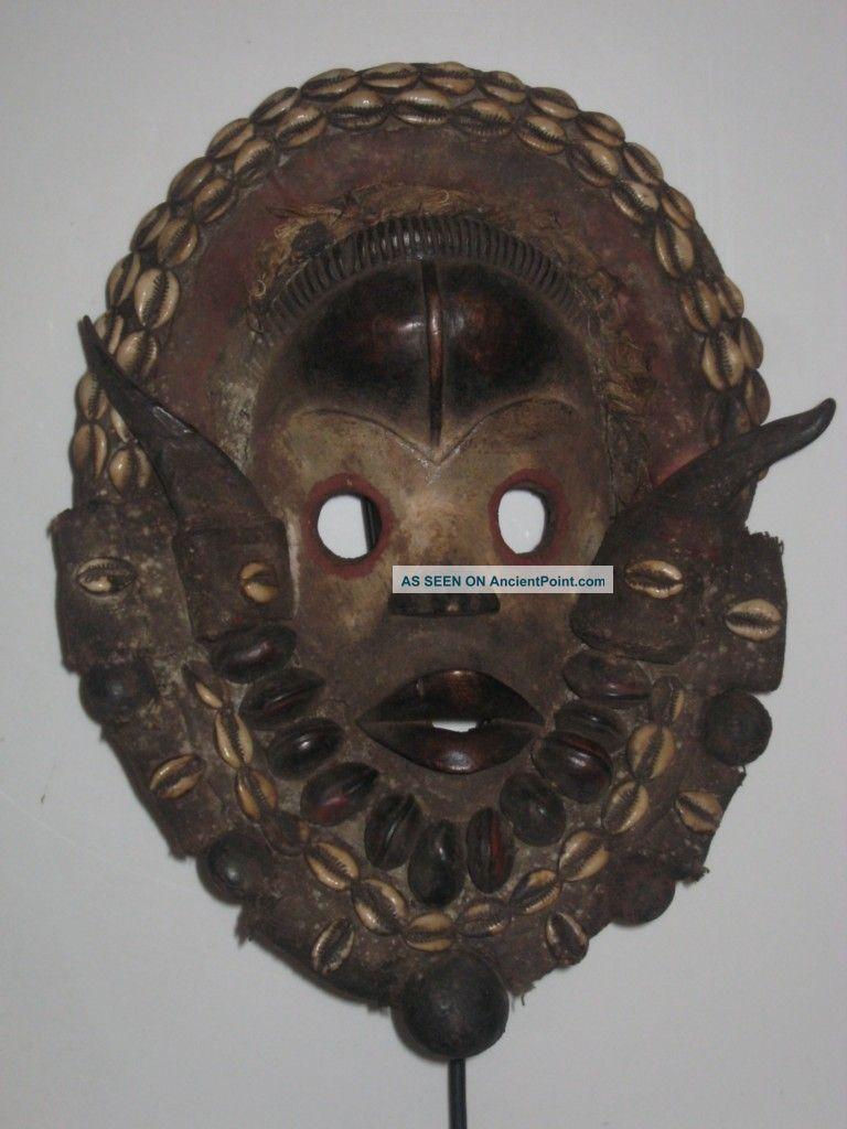 Stunning Dan Gunyege Racing Ceremonial Mask,  Cote D ' Ivoire Other photo